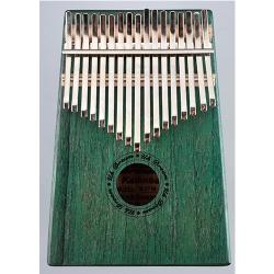 17音绿色拇指琴